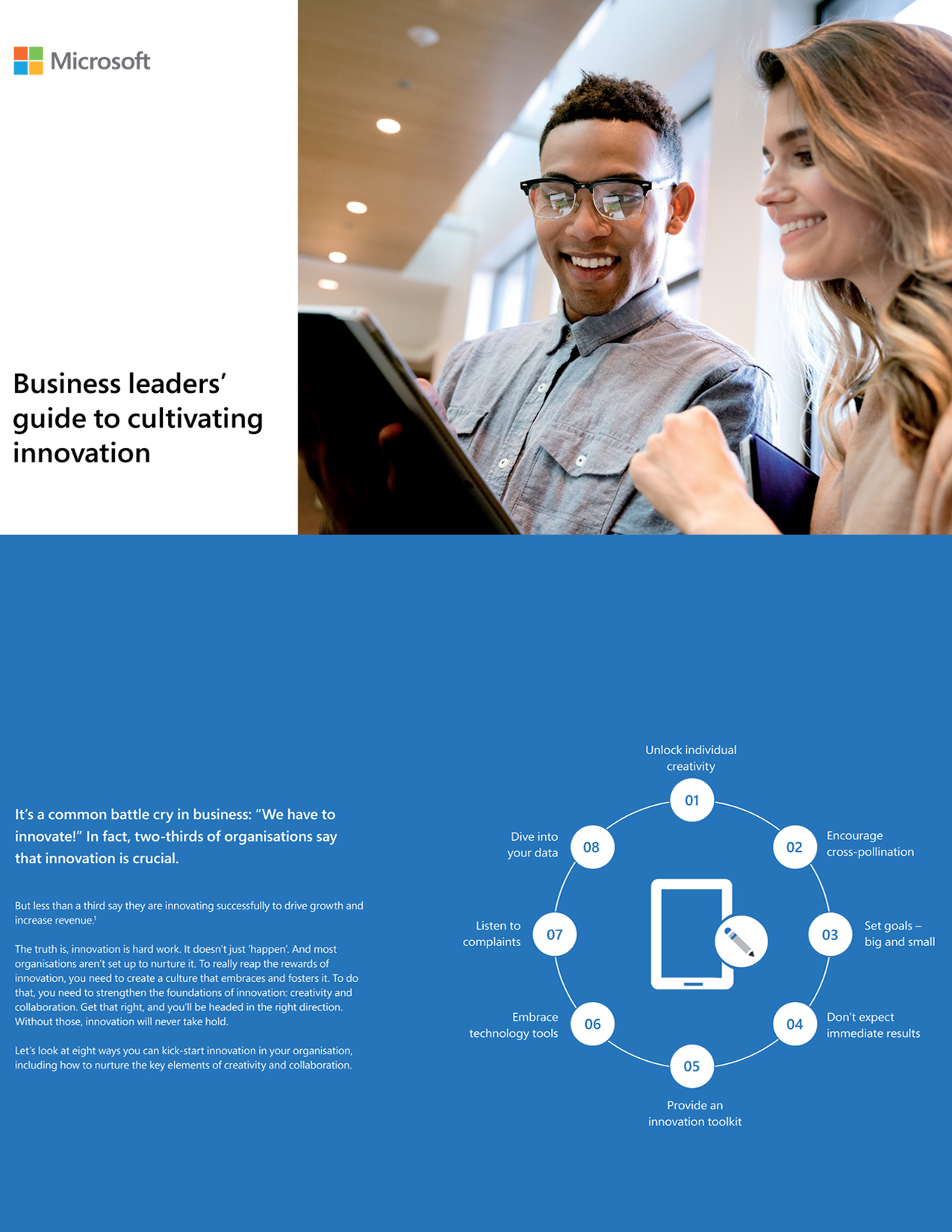Business Leaders Guide to Cultivating Innovation